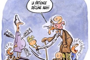 dessin : Avoir un enfant de plus en plus tard, un choix  risque