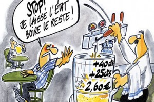 la taxe sur la bire